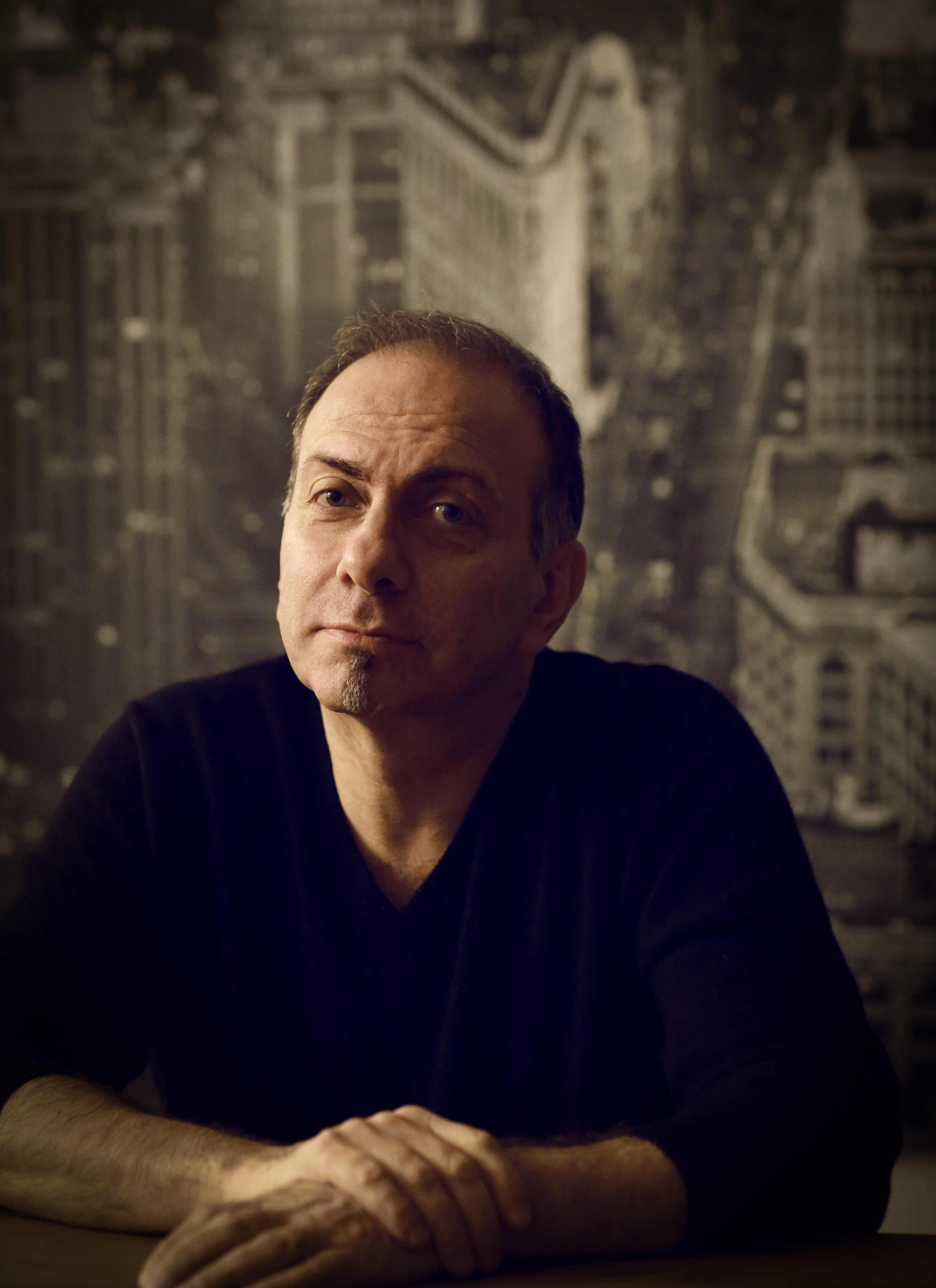 MichelKorb in his studio